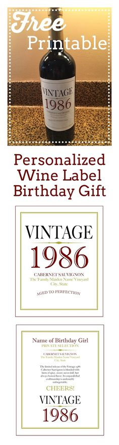 free printable wine labels for birthday ; 2912bb4b1bf942141a43386f9a34a13c--personalized-wine-labels-th-birthday