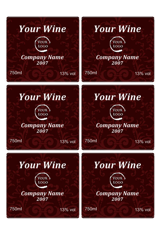 free printable wine labels for birthday ; wine2b