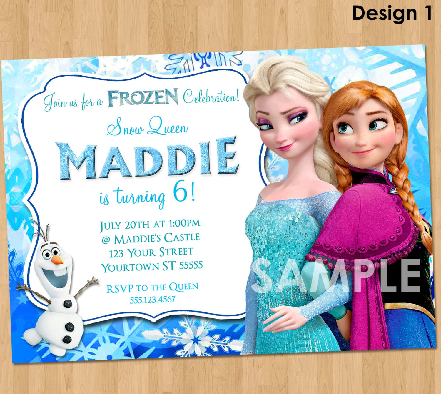 frozen themed birthday invitation ; Frozen-Themed-Birthday-Invitations-to-inspire-you-how-to-create-the-birthday-Invitation-with-the-best-way-1