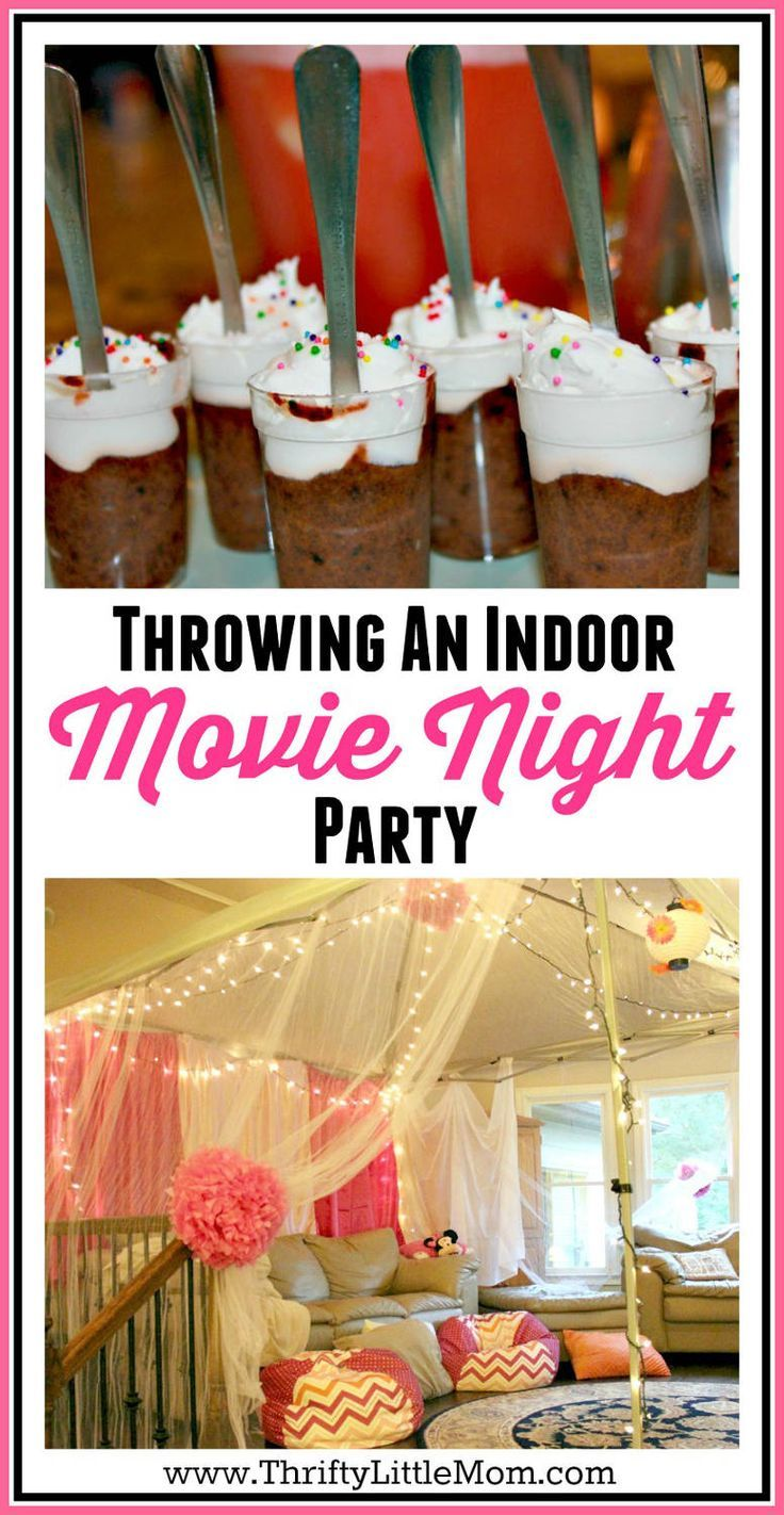 fun activities for birthday parties at home ; 1997ca5bedeaaacabadec8112a50ed6d--movie-night-party-indoor-indoor-birthday-party-ideas