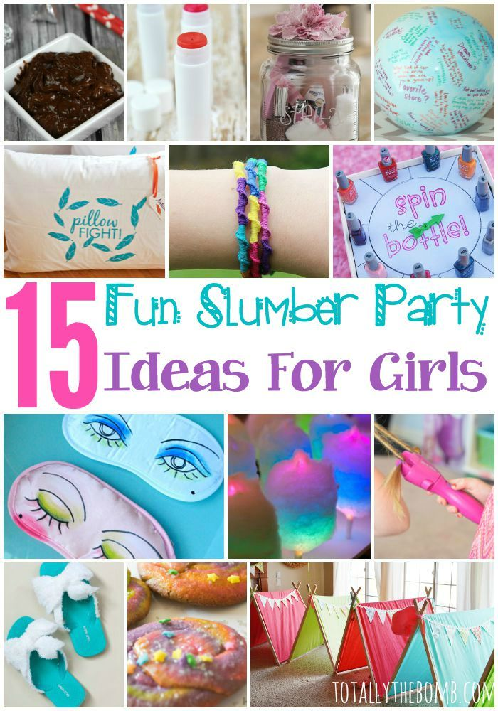 fun activities for birthday parties at home ; 2fe70fbf119f6da670056234f064c41c--girl-sleepover-party-ideas-party-fun