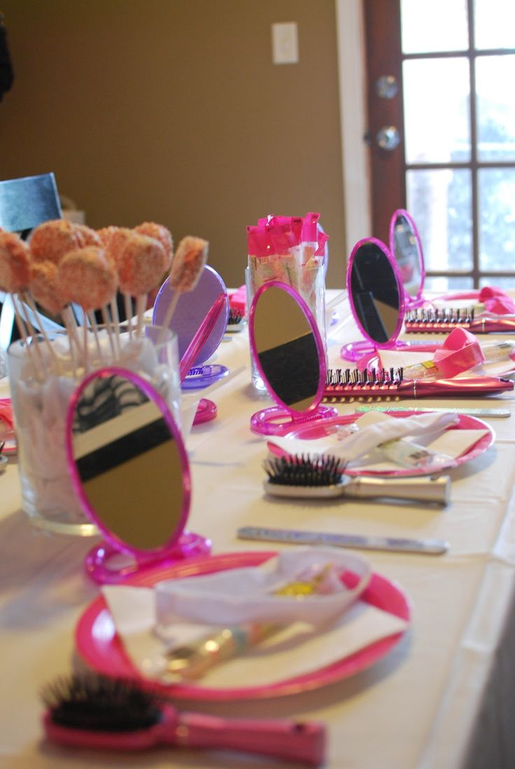 fun activities for birthday parties at home ; 406549242ec31bc0c05aaf8ae5e5d131--spa-birthday-parties-sleepover-party