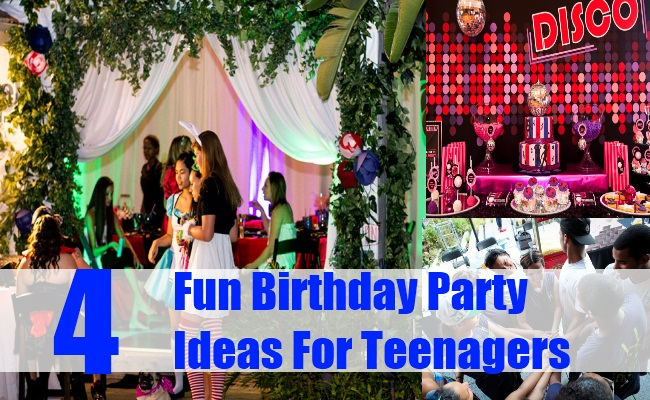 fun activities for birthday parties at home ; Fun-Birthday-Party-Ideas-For-Teenagers-