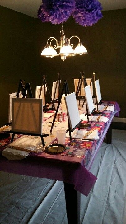 fun activities for birthday parties at home ; e2dcb004a0213691a347b068fc252386---year-old-girls-sleepover-ideas-paint-party-ideas-for-adults