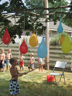 fun activities for birthday parties at home ; lots-of-good-ideas-for-a-cheep-outdoor-birthday-party-kids-would-love