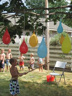 fun activities for children's birthday parties ; 9850060483042ea9f048e7220305a49d