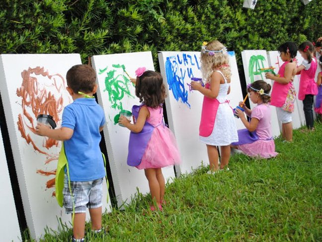fun activities for children's birthday parties ; outdoor-birthday-party-ideas-for-kids