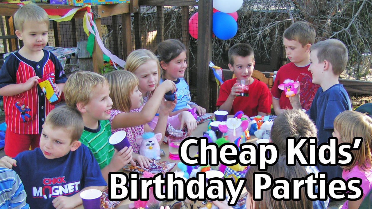 fun activities for kids birthday party ; maxresdefault