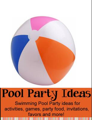 fun activities for kids birthday party ; poolpartyideas