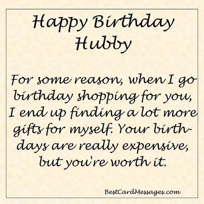 funny birthday wish for husband messages ; 8631972