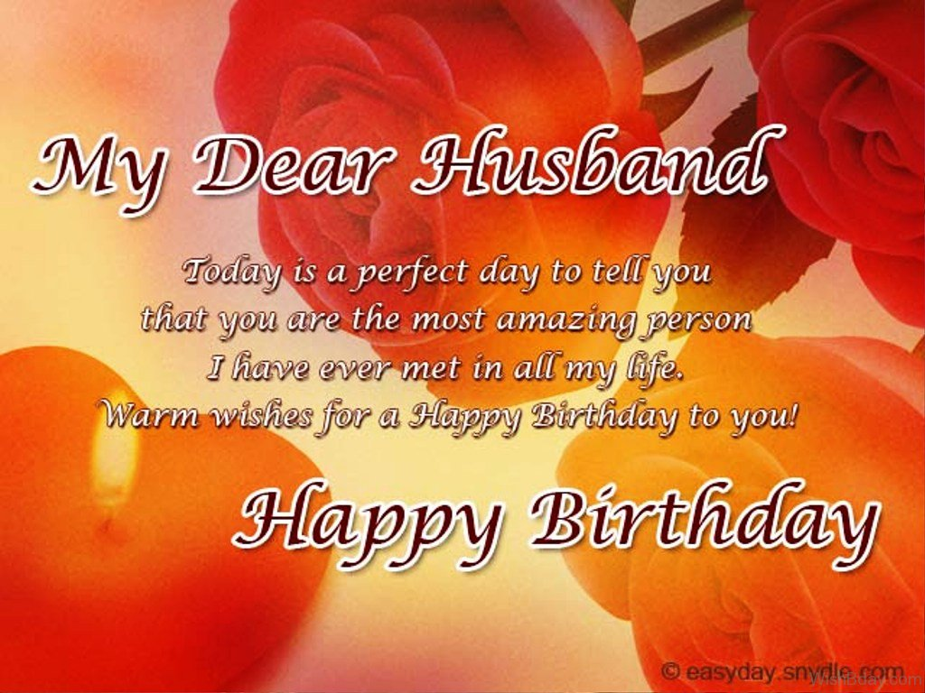 funny birthday wish for husband messages ; Today-Is-A-Perfect-Day