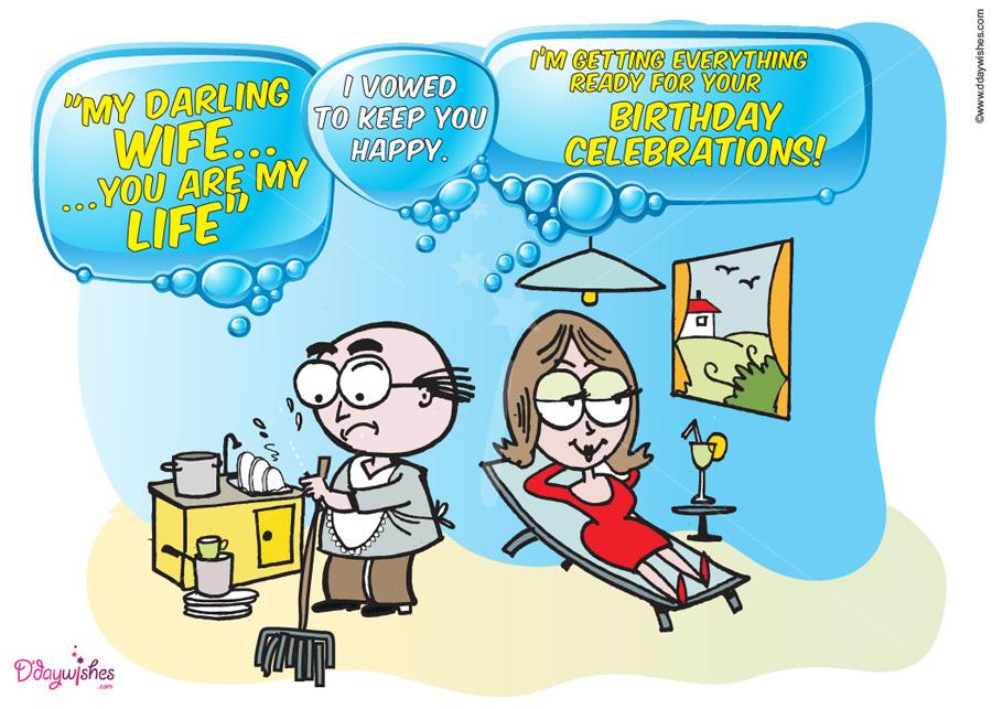 funny birthday wish for husband messages ; free-happy-birthday-wishes-for-wife