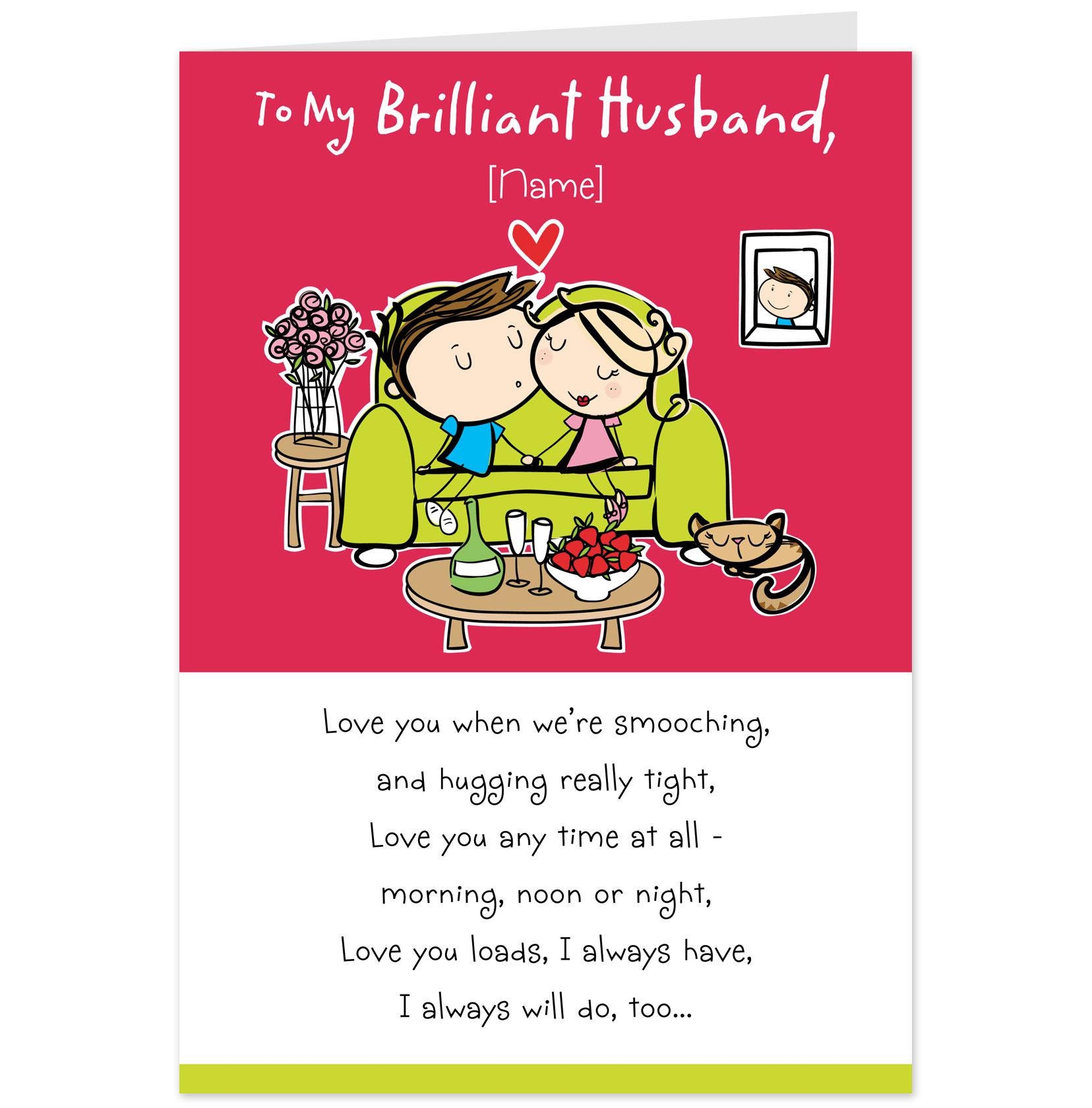 Funny Birthday Wish For Husband Messages Cards Some