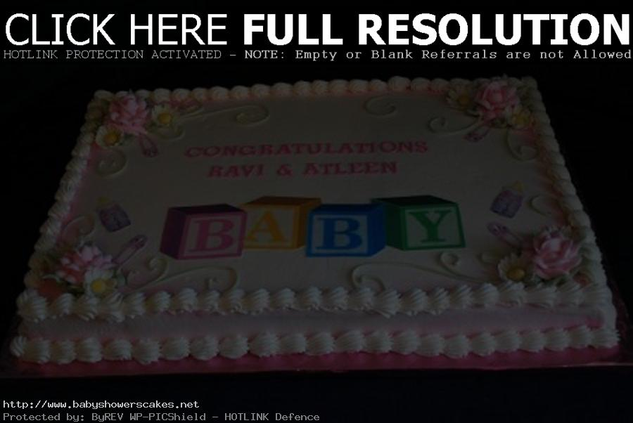 girl birthday sheet cake designs ; Baby-Shower-Sheet-Cake-Ideas-for-Girls