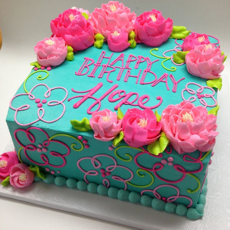 girl birthday sheet cake designs ; best-25-buttercream-birthday-cake-ideas-on-pinterest-birthday-toddler-birthday-sheet-cakes