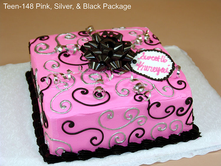girl birthday sheet cake designs ; birthday-cake-for-teenage-girl-teen-148-pink-silver-and-black-package-pink-black-and-silver-color-combination-design-ideas