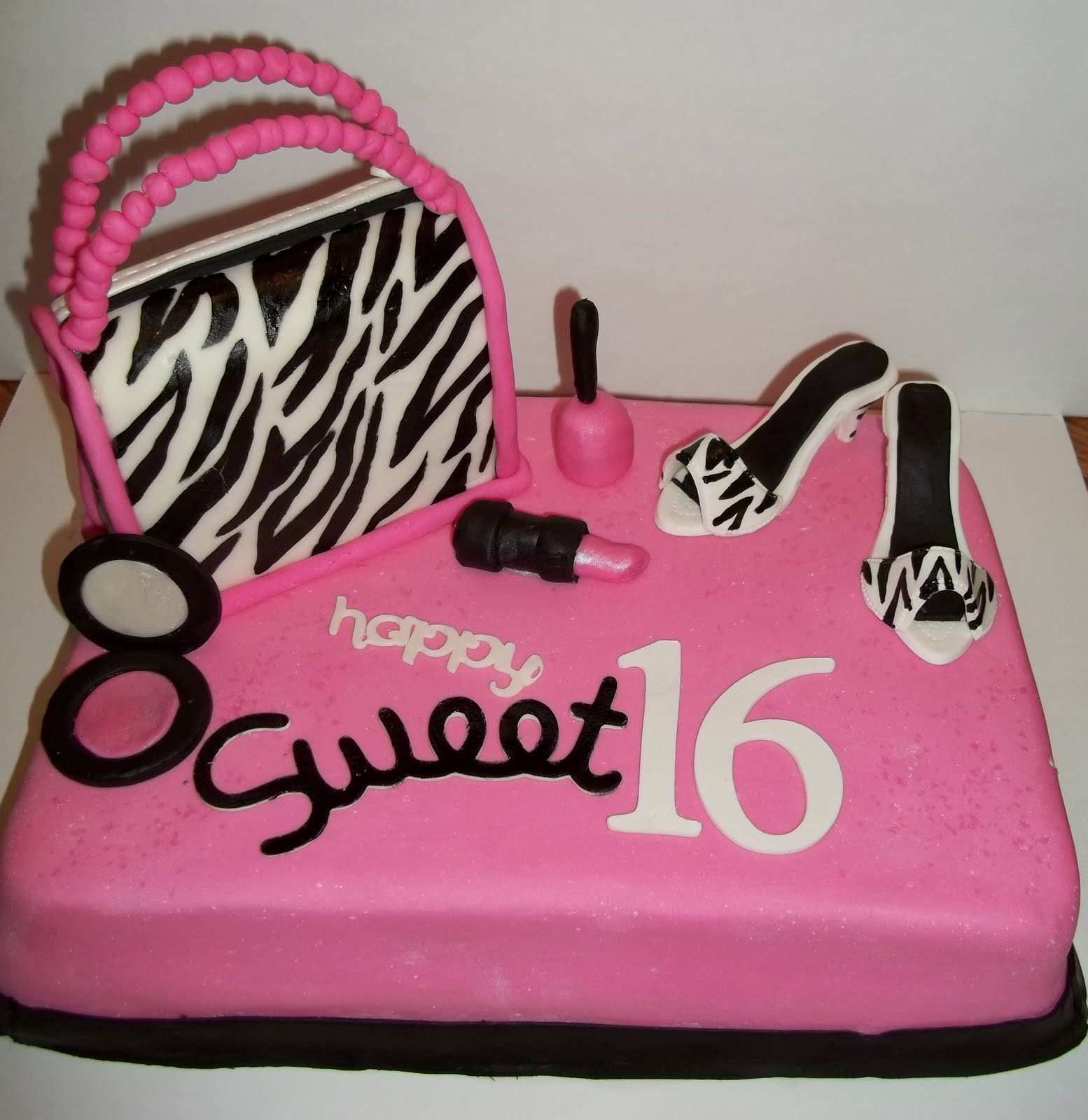 girl birthday sheet cake designs ; sweet-16-birthday-cake
