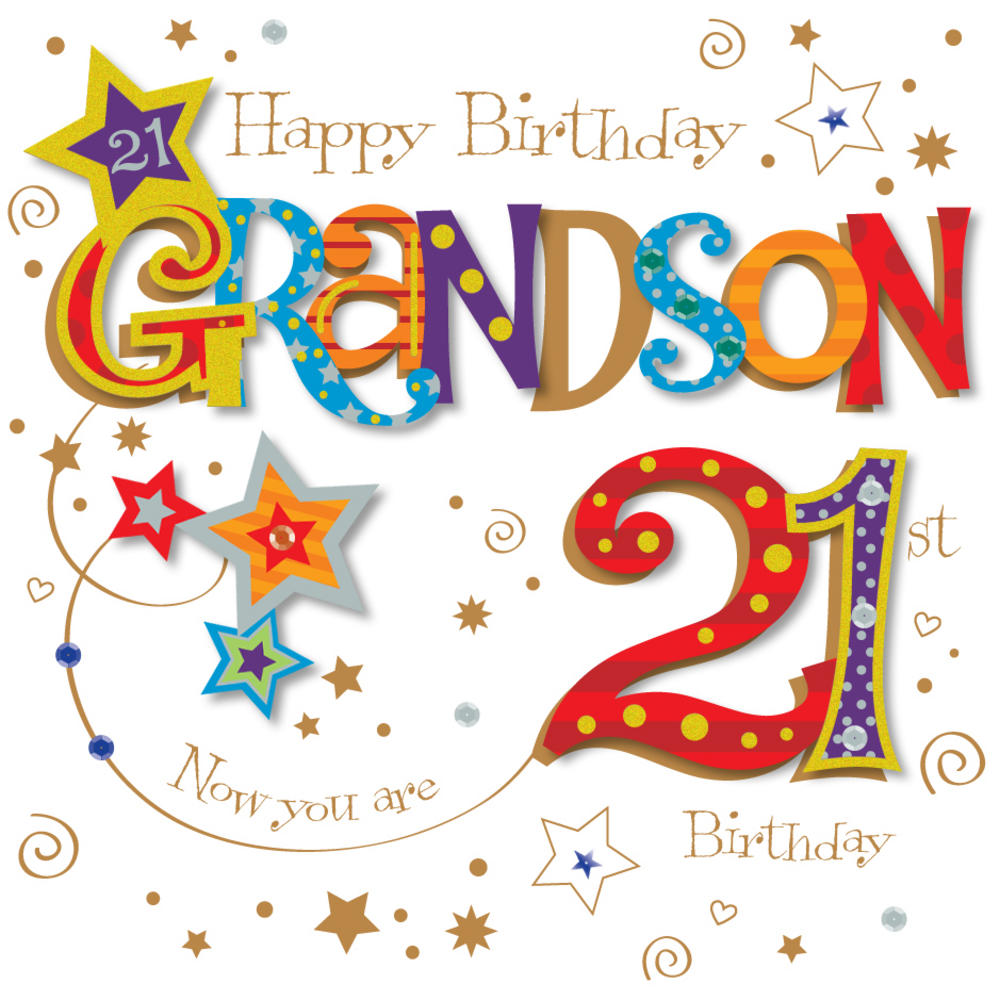 greeting card messages for 21st birthday ; lrgscaleMWER0026_M