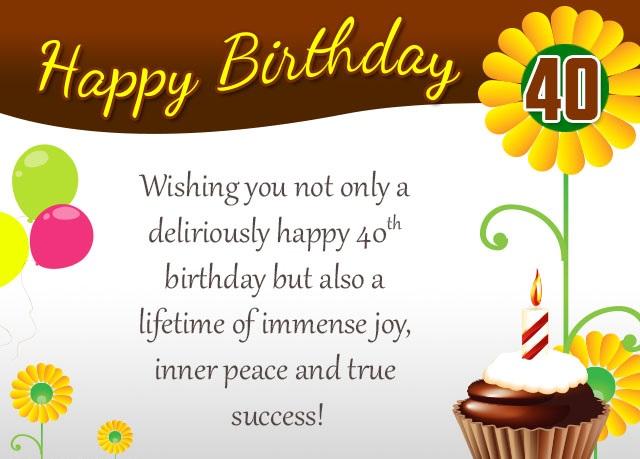 greeting card messages for 40th birthday ; 40th-birthday-card-456