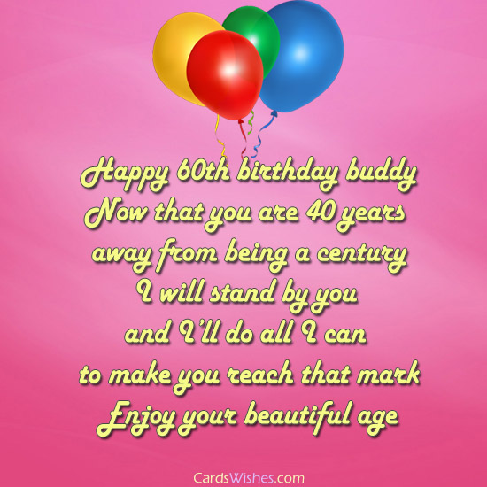 greeting card messages for 60th birthday ; 20edaa2f64ce05bba7b530cf449390ae