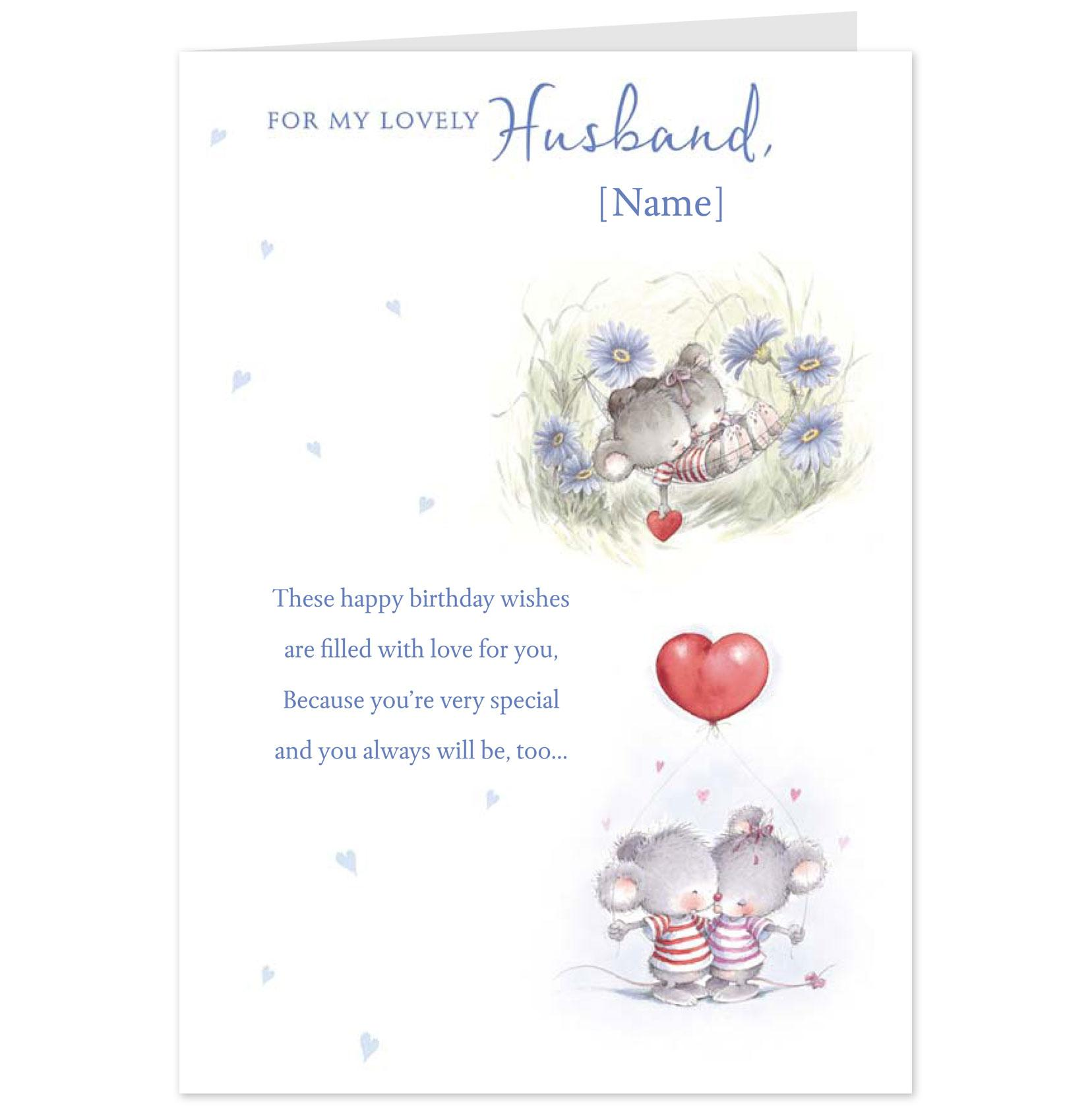 greeting card messages for husband birthday ; a35d3325b5765da4f9699a3c55832359