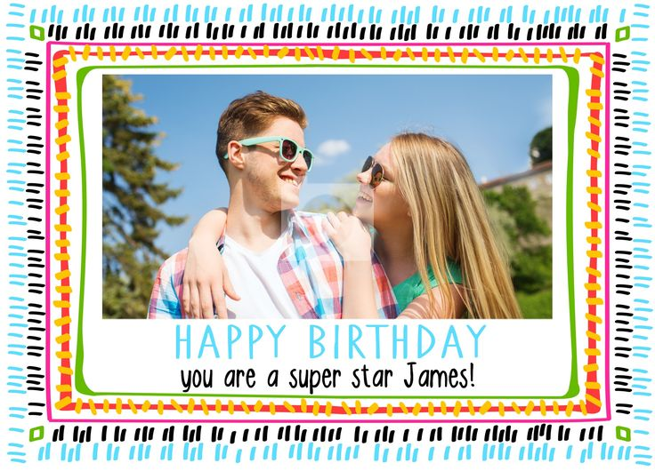 happy birthday add your photo ; 244362b446da3a3e3be1491e42841efb--photo-cards-the-front