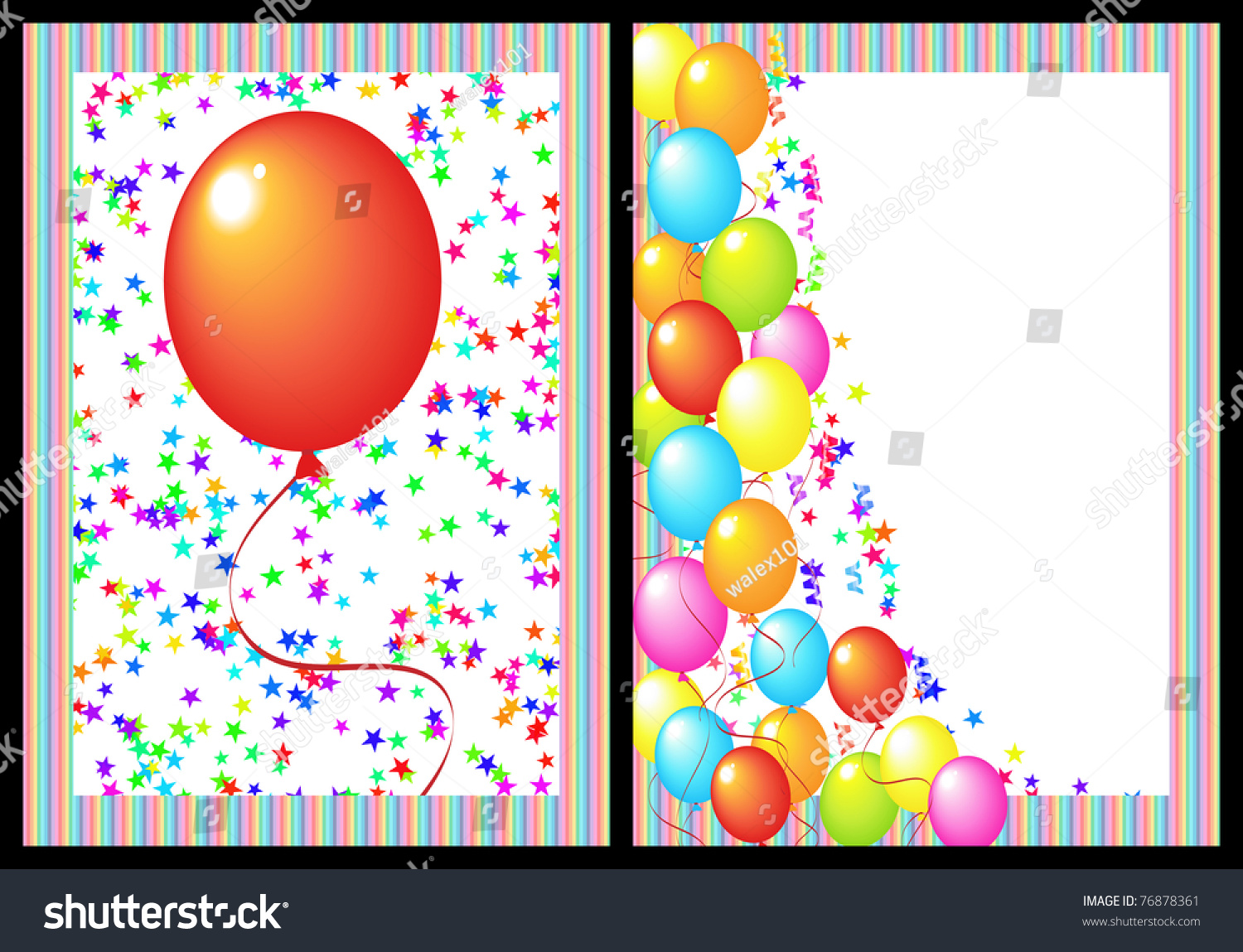 happy birthday add your photo ; stock-photo-happy-birthday-greeting-card-with-balloon-and-star-includes-the-front-and-back-of-the-card-black-76878361