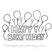 happy birthday banner coloring pages ; 0b3525b85ba9c20f0d15f17e2858fb5a