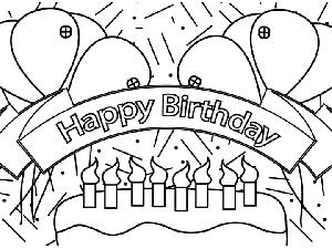 happy birthday banner coloring pages ; Happy_Birthday_Banner