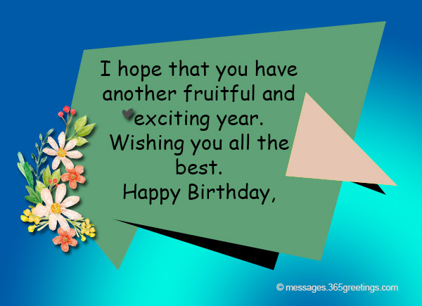 happy birthday best wishes message ; birthday-wishes-for-boss-08
