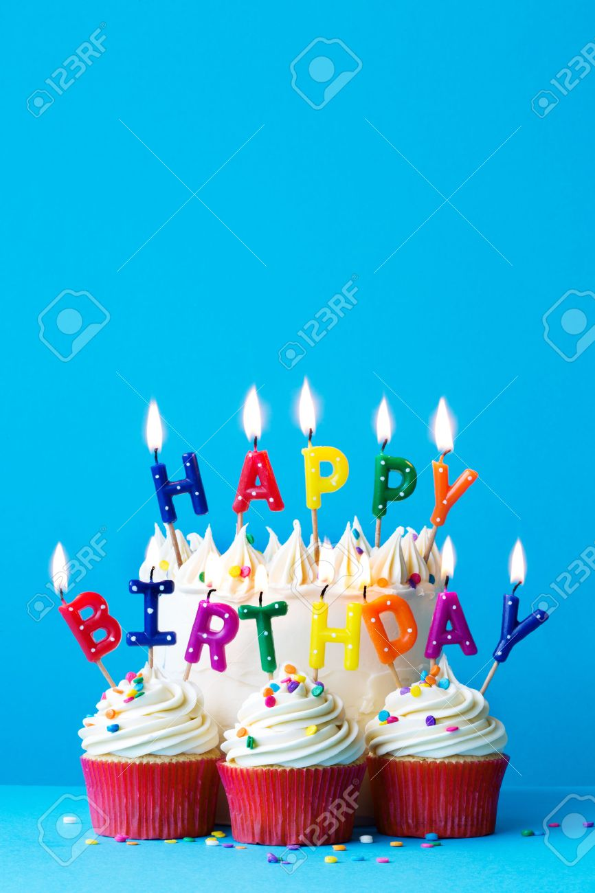 happy birthday cake picture messages ; 57841718-birthday-cake-with-happy-birthday-message