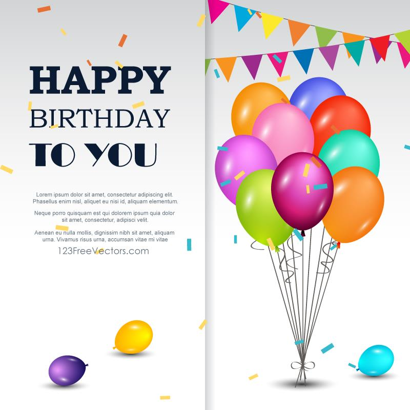 happy birthday card design template ; 1013-happy-birthday-greetings-card