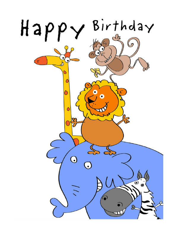 happy birthday card design template ; 14891203