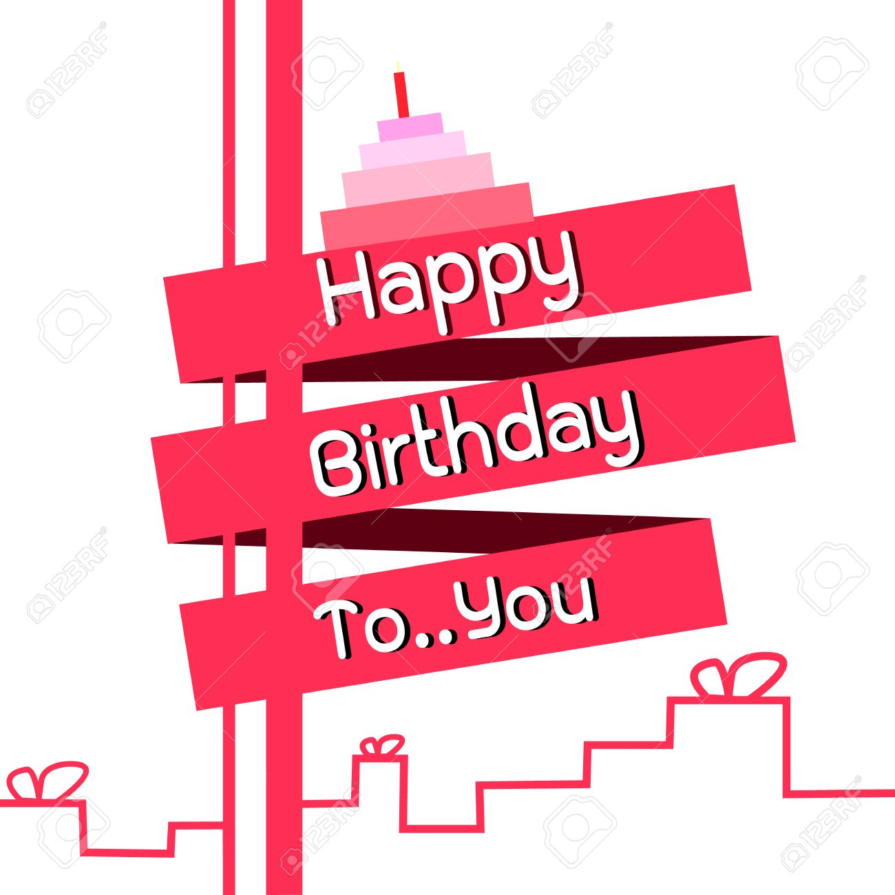 happy birthday card design template ; 37843721-happy-birthday-card-design-template