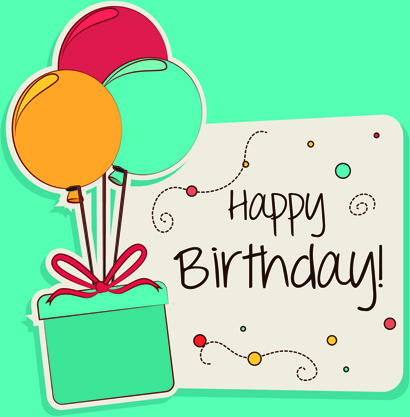 happy birthday card design template ; cartoon_style_happy_birthday_greeting_card_template_545826