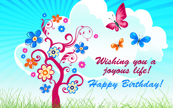happy birthday cards and wishes ; happy-birthday-card-images-also-some-colorful-butterfly-and-best-wishes-completing-with-simple-design-and-elegant-and-stunning