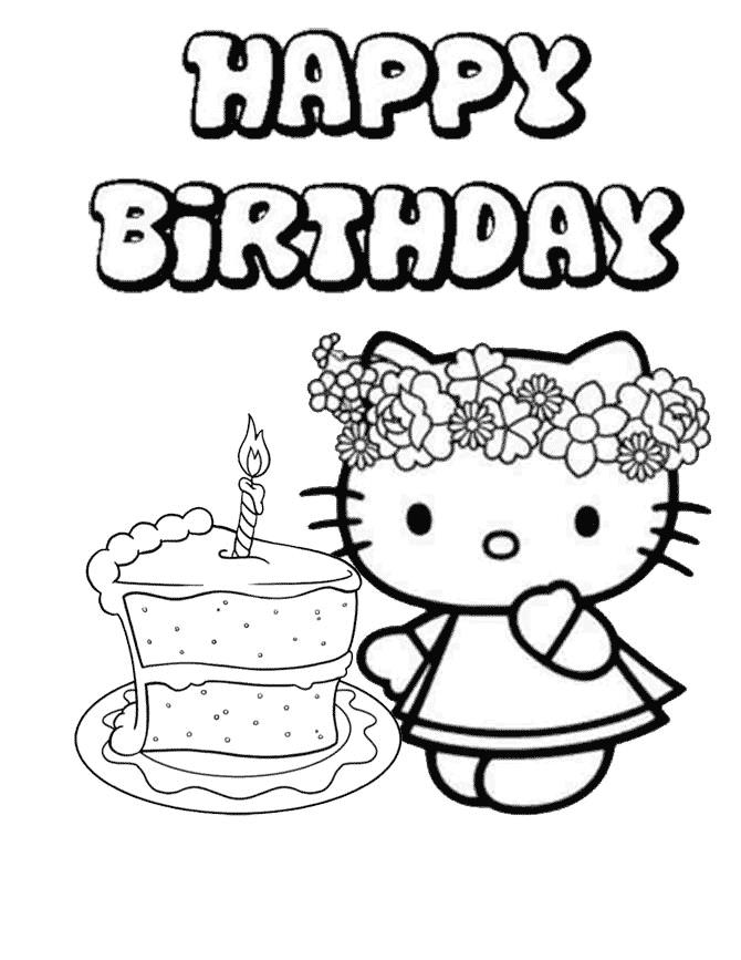 happy birthday coloring sheets ; Appealing-Happy-Birthday-Coloring-Page-78-For-Line-Drawings-with-Happy-Birthday-Coloring-Page