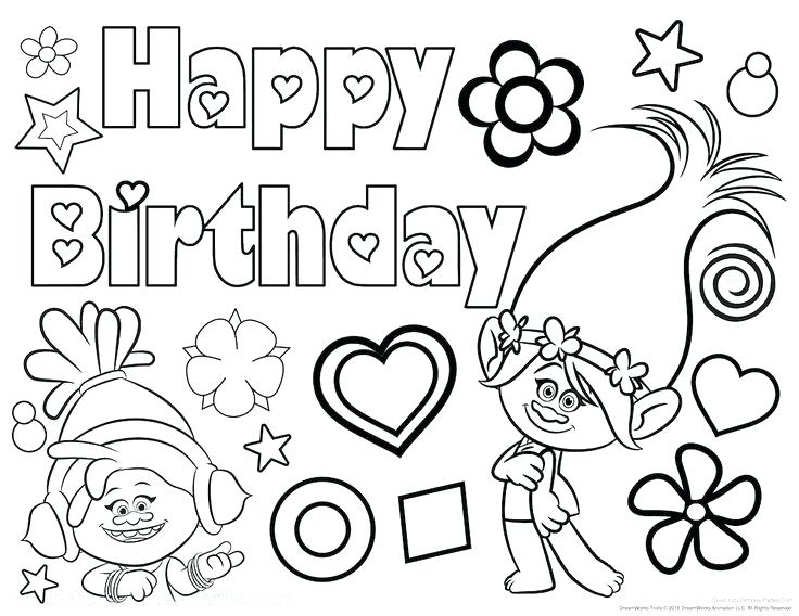 happy birthday coloring sign ; Elegant-Happy-Birthday-Coloring-Page-78-For-Coloring-Pages-Photos-with-Happy-Birthday-Coloring-Page