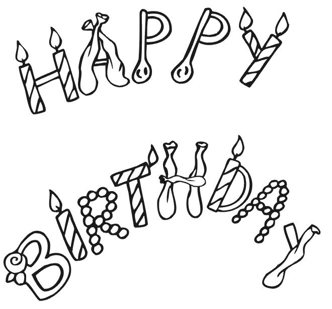happy birthday coloring sign ; Trend-Happy-Birthday-Coloring-Page-91-With-Additional-Coloring-Pages-for-Adults-with-Happy-Birthday-Coloring-Page