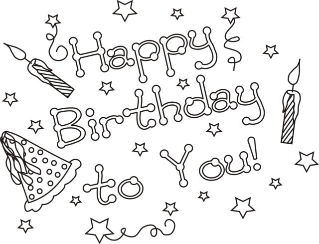 happy birthday coloring sign ; happy-birthday-you-coloring-page-greatest-book-53463