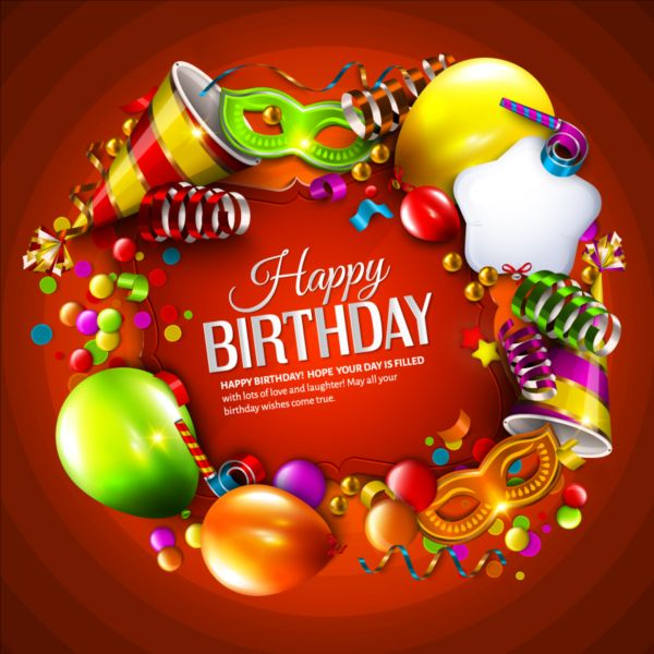 happy birthday gift photo download ; Birthday-gift-with-red-background-vector1