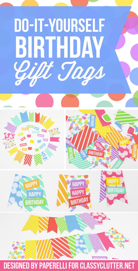 happy birthday gift tag printable ; Do-It-Yourself-Birthday-Gift-Tags