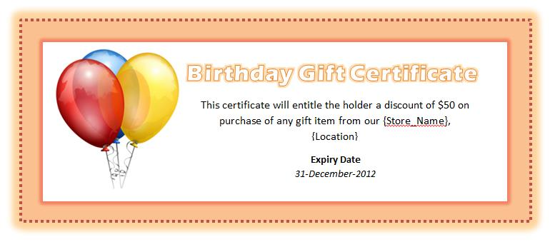 happy birthday gift tag template ; Birthday-Voucher-Template