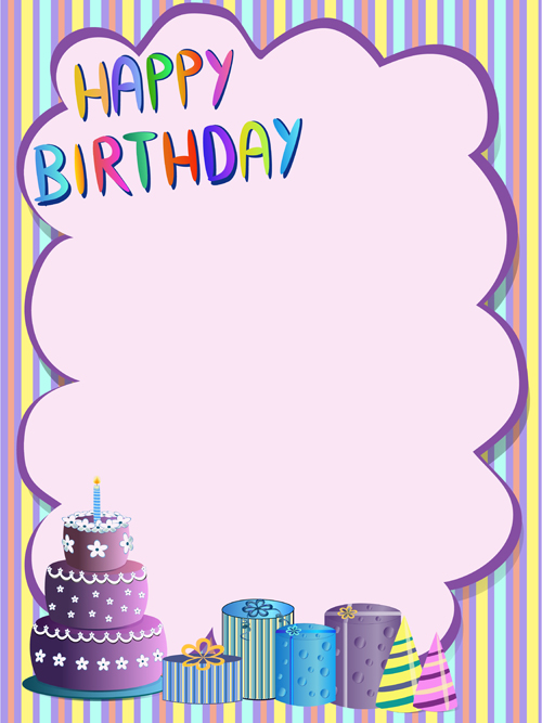 happy birthday greeting card images ; Cute-happy-birthday-greeting-card-vector-01