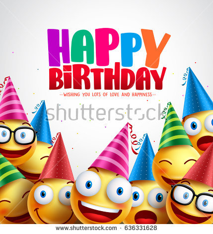 happy birthday greeting card images ; stock-vector-smiley-happy-birthday-greeting-card-colorful-vector-background-in-white-with-space-for-text-and-636331628