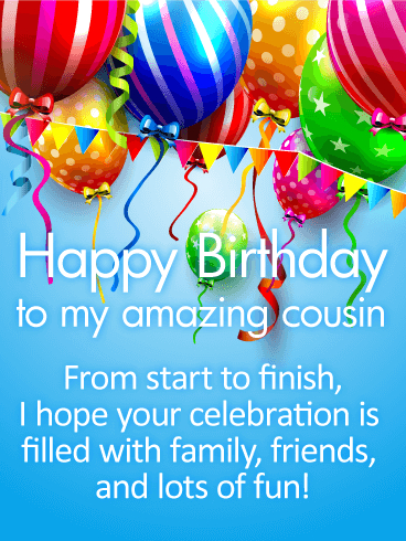 happy birthday greeting card pictures ; have-a-fun-day-happy-birthday-wishes-card-for-cousin-birthday-magnificient-family-happy-birthday-wishes