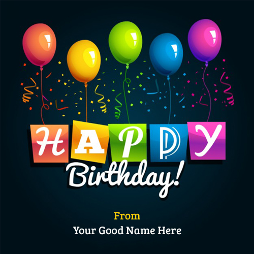 happy birthday greeting images with name ; Write-Happy-birthday-greetings-with-balloons