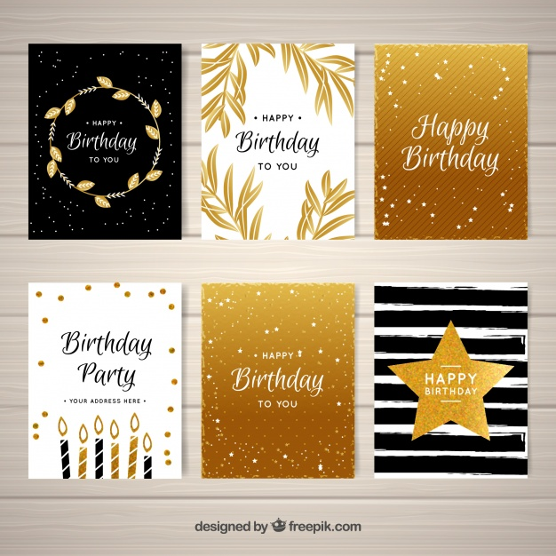 happy birthday greetings images free download ; pack-of-golden-birthday-greetings_23-2147647605