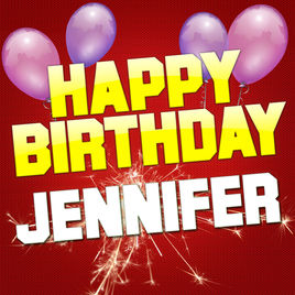happy birthday jennifer photo ; 268x0w