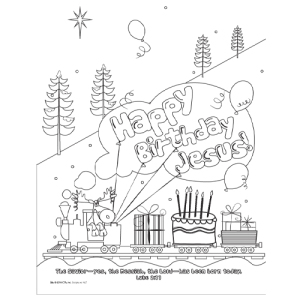 happy birthday jesus coloring sheet ; HBJ4AD_CP